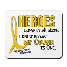 Heroes All Sizes 1 (Cousin) Mousepad
