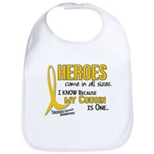Heroes All Sizes 1 (Cousin) Bib