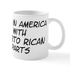 Puerto Rican Parts Mug