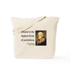 Thomas Jefferson 24 Tote Bag