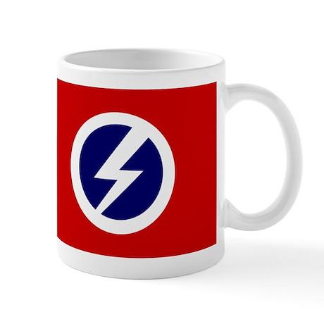 Flash and Circle Mug