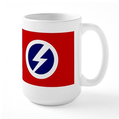 Flash and Circle Large Mug