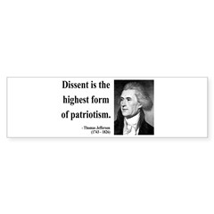 Thomas Jefferson 24 Bumper Bumper Sticker