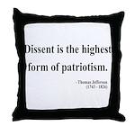 Thomas Jefferson 24 Throw Pillow