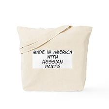 Hessian Parts Tote Bag