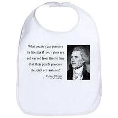 Thomas Jefferson 25 Bib