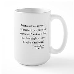 Thomas Jefferson 25 Large Mug
