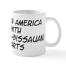 Guinea-Bissauan Parts Mug