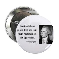 "Thomas Jefferson 26 2.25"" Button (10 pack)"