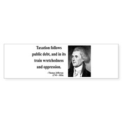 Thomas Jefferson 26 Bumper Bumper Sticker