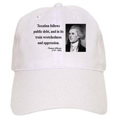 Thomas Jefferson 26 Baseball Cap