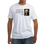 George Washington 1 Fitted T-Shirt