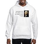George Washington 1 Hooded Sweatshirt