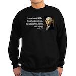 George Washington 1 Sweatshirt (dark)