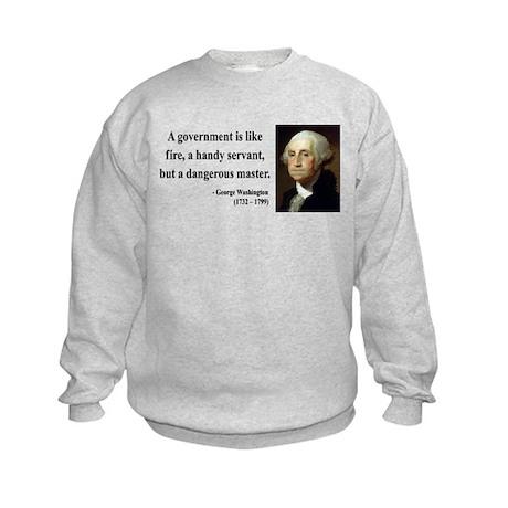 George Washington 1 Kids Sweatshirt