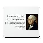 George Washington 1 Mousepad