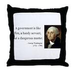 George Washington 1 Throw Pillow