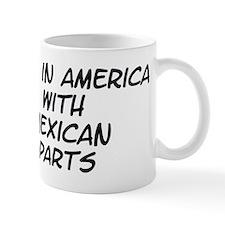 Mexican Parts Small Mug