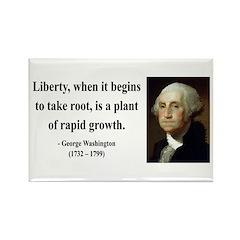 George Washington 2 Rectangle Magnet