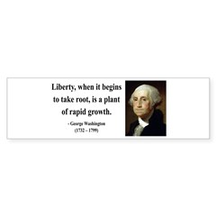 George Washington 2 Bumper Bumper Sticker