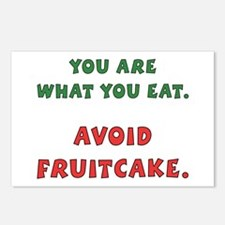 Avoid Fruitcake Postcards (Package of 8)
