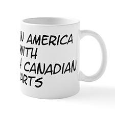 French Canadian Parts Mug