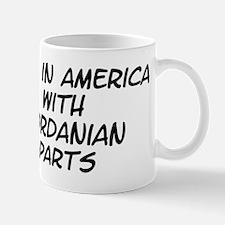 Jordanian Parts Mug