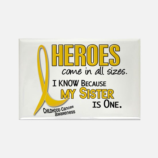 Heroes All Sizes 1 (Sister) Rectangle Magnet
