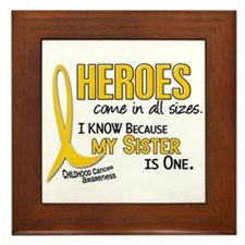 Heroes All Sizes 1 (Sister) Framed Tile