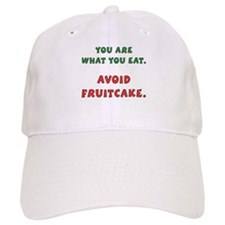 Avoid Fruitcake Baseball Cap