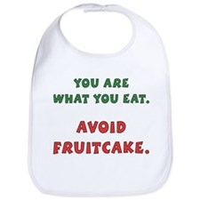 Avoid Fruitcake Bib