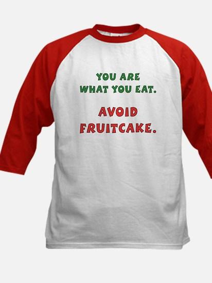 Avoid Fruitcake Kids Baseball Jersey