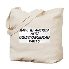 Equatoguinean Parts Tote Bag