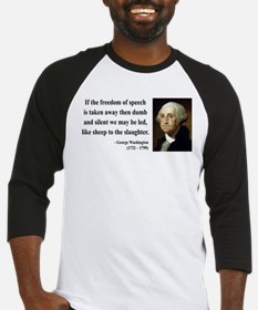 George Washington 3 Baseball Jersey