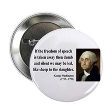 "George Washington 3 2.25"" Button"