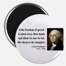 "George Washington 3 2.25"" Magnet (10 pack)"
