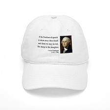 George Washington 3 Baseball Cap