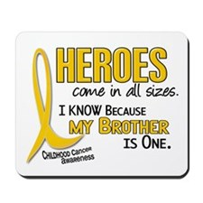 Heroes All Sizes 1 (Brother) Mousepad