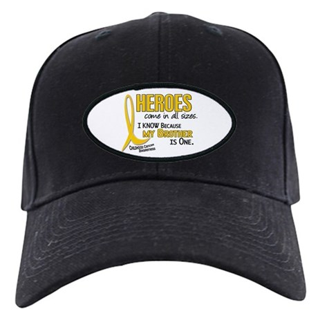 Heroes All Sizes 1 (Brother) Black Cap