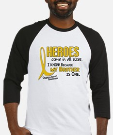 Heroes All Sizes 1 (Brother) Baseball Jersey