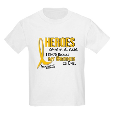Heroes All Sizes 1 (Brother) Kids Light T-Shirt