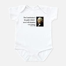 George Washington 4 Infant Bodysuit