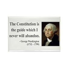 George Washington 4 Rectangle Magnet