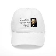 George Washington 6 Baseball Cap