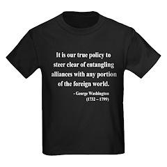 George Washington 6 Kids Dark T-Shirt