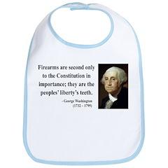 George Washington 12 Bib