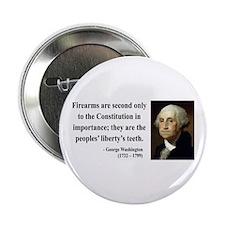 "George Washington 12 2.25"" Button"
