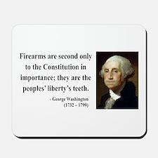 George Washington 12 Mousepad