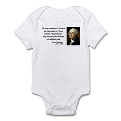 George Washington 13 Infant Bodysuit