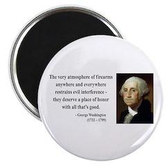 George Washington 13 Magnet